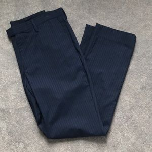 Banana Republic pinstripe slim fit trousers 33x32